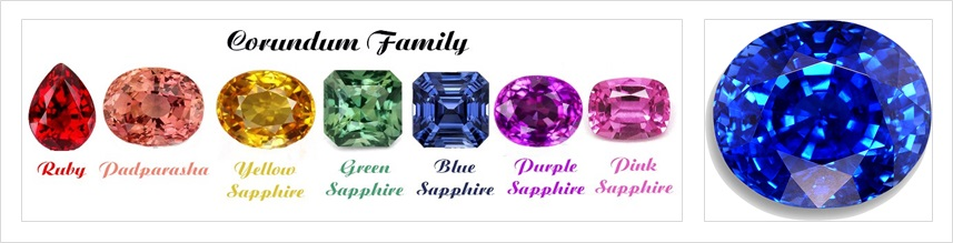 September Birthstone Sapphire Shines In All Colors Of The