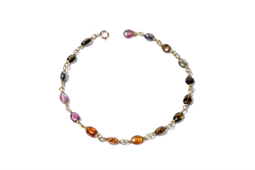 Multi-Color Tourmaline Bracelet