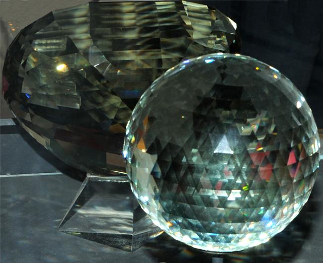 The Golden Topaz Sphere
