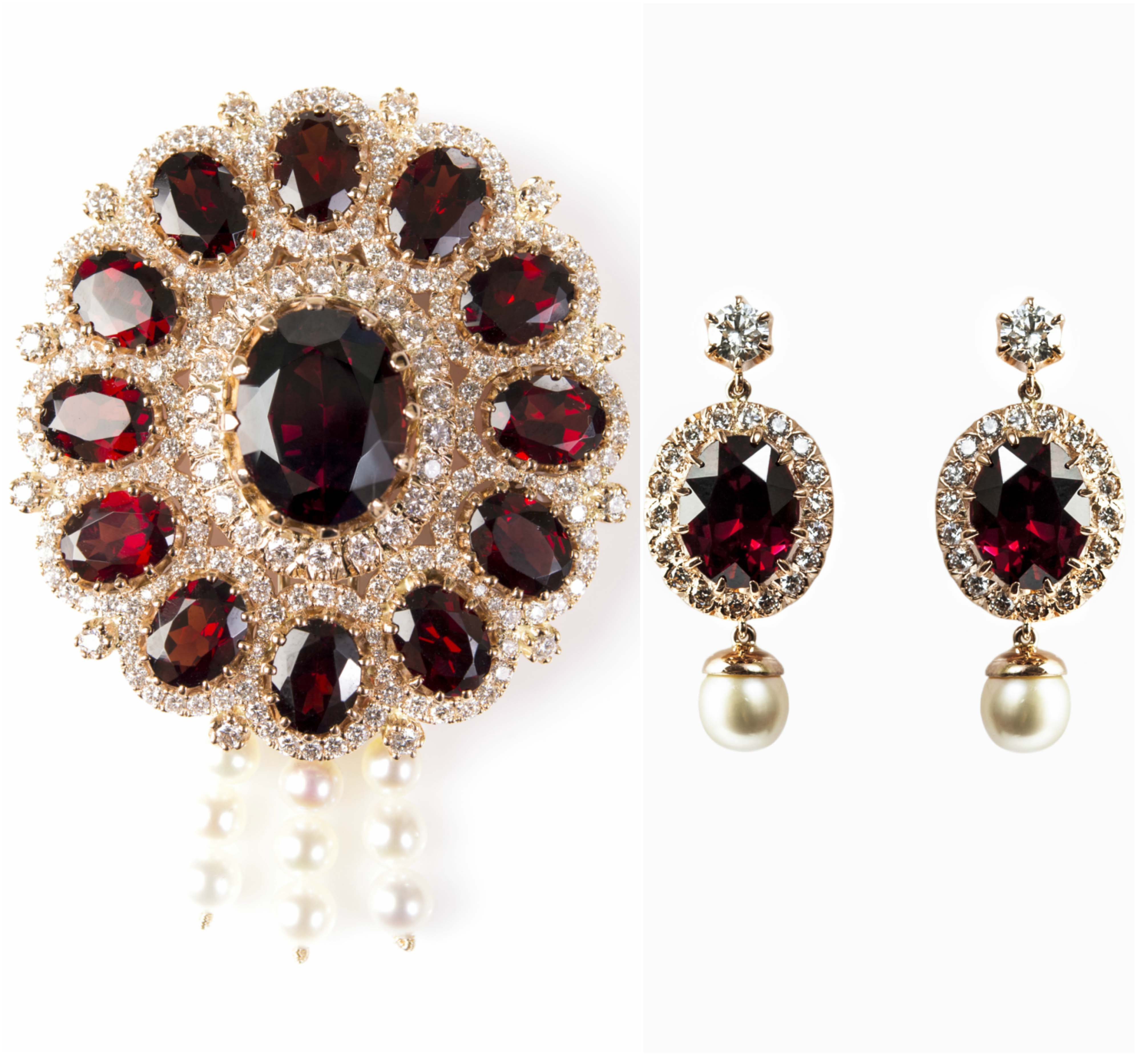 earrings gold filled beads of collections with paradise img rhodolite earwires garnet