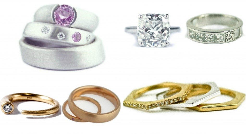 Diamond wedding and engagement rings from gemme couture
