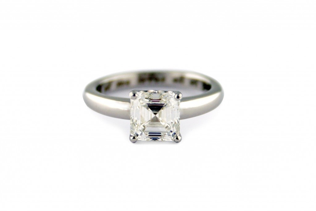 One-of-a-kind diamond ring from Gemme Couture jewelry