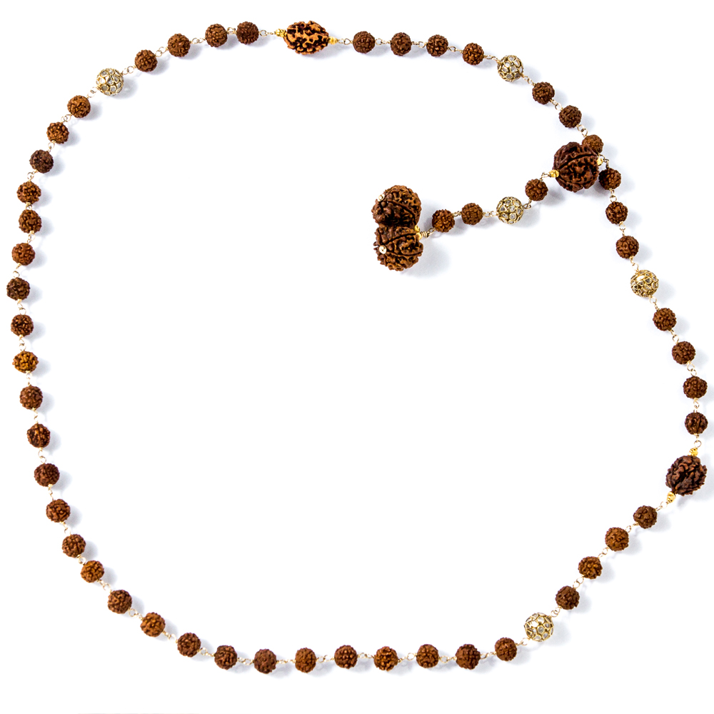 Rudraksha gold and diamond beads from Gemme Couture 1
