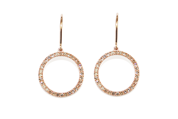 Gemme Couture jewelry Hoop Earrings