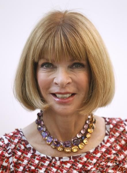 Anna Wintour wearing Citrine