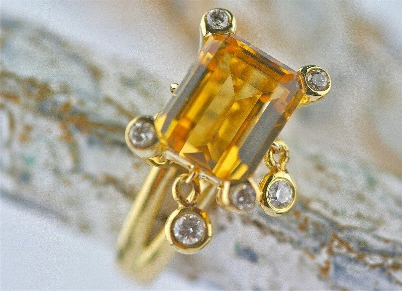 e3a27f1bdb145 Citrine Jewelry Archives - Gemme Couture Gemme Couture