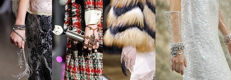 Jewelry Trends - Hand bracelets