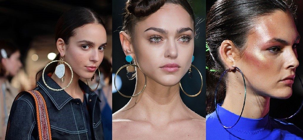 Jewelry Trends - Oversized hoops