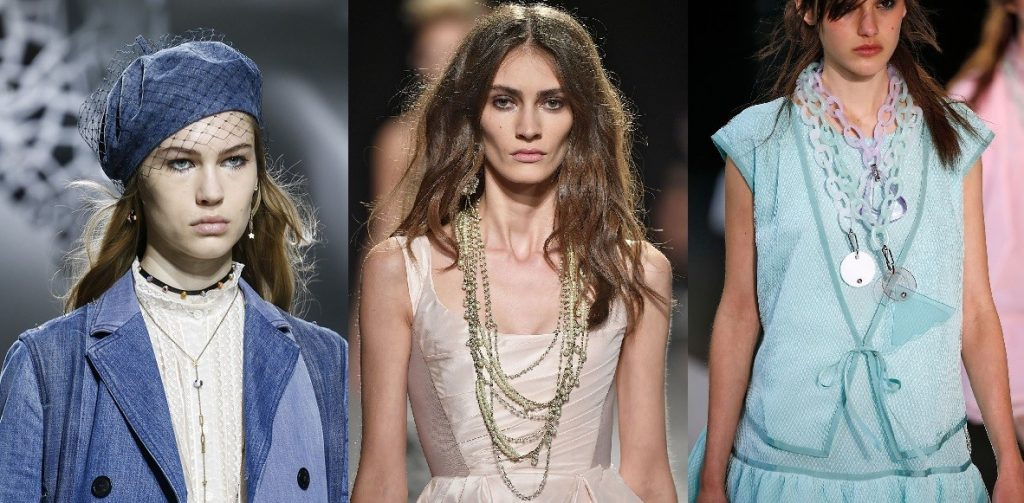 Jewelry Trends - Shoulder long necklaces