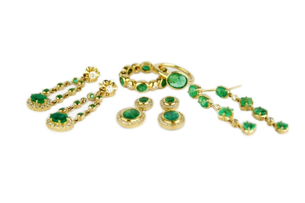 Gemme Couture emeralds