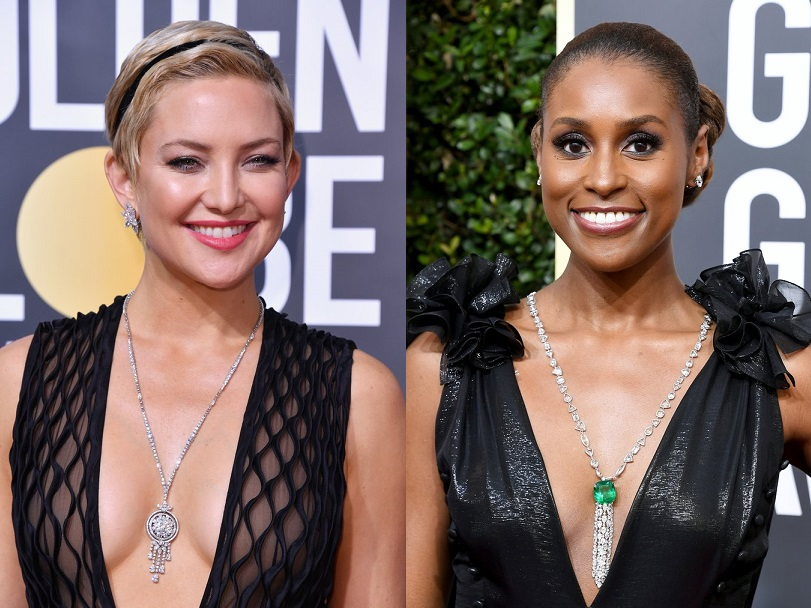 2018 Golden Globes Long necklaces
