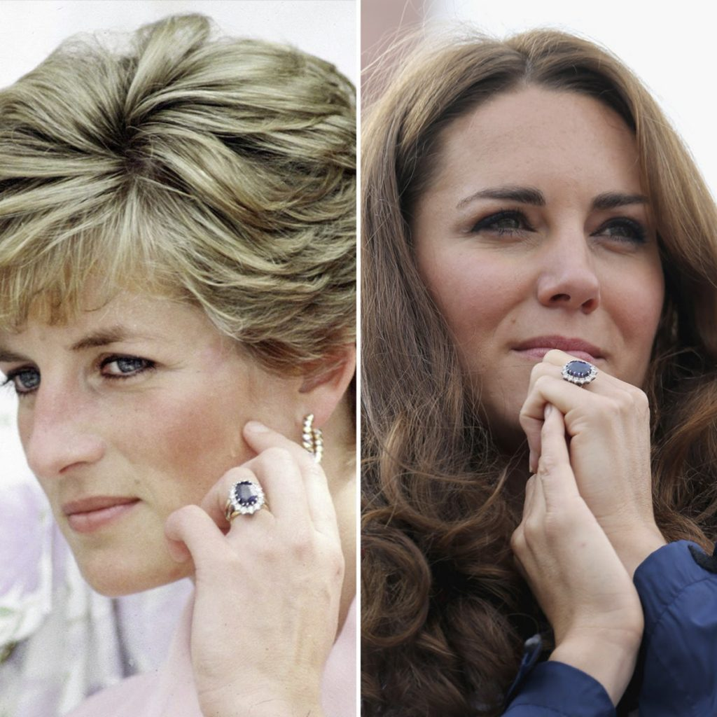 Princess Diana Kate Middleton Engagement Ring 1024