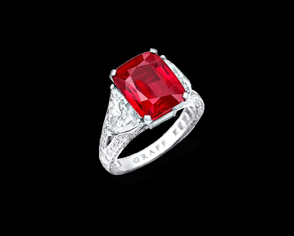 The Graff Ruby jewelry