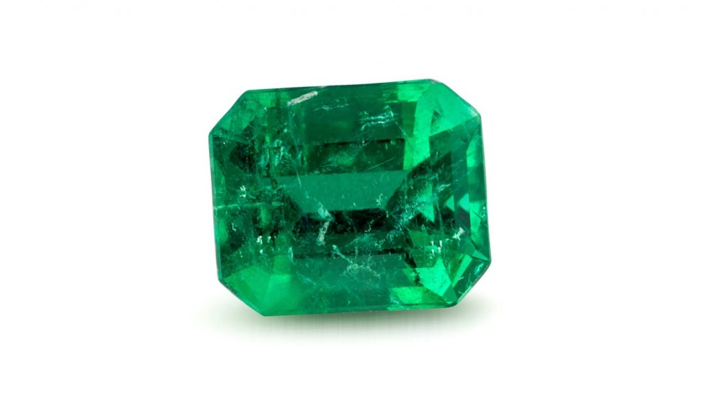Emeralds are found in Colombian gemstone localities