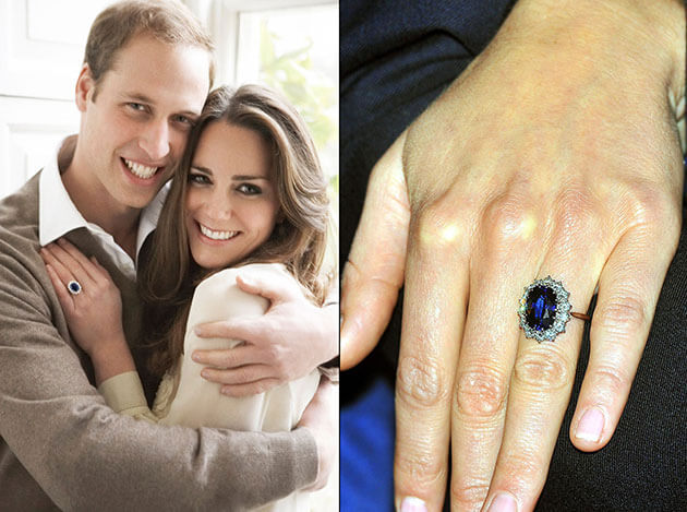 Kate Middleton's Sapphire Engagement Ring