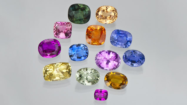 Sapphires are available in all sizes, shapes, and colors