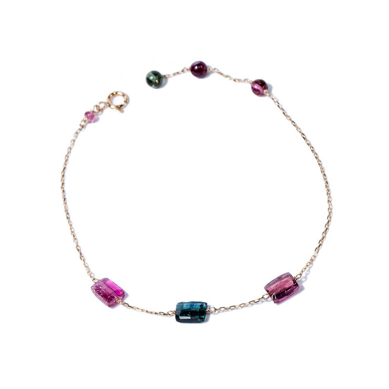 Gemme Couture Multi-Color Tourmaline Bracelet