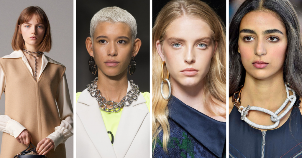 Jewelry Trends 2019 are Metal Chains: Chloé, Off-White, Monse, Hermes
