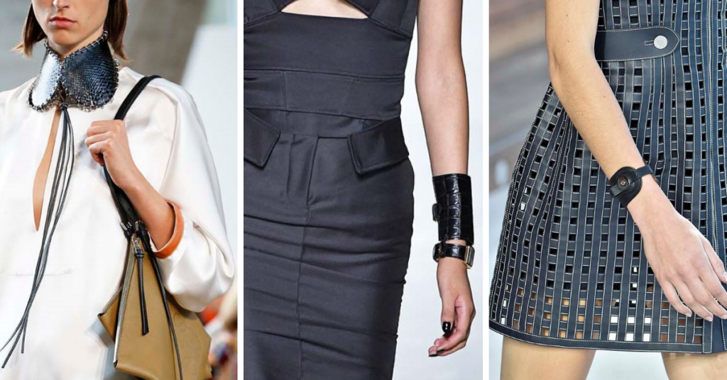Jewelry Trends 2019: Leather Loewe, Tom Ford, Hermes