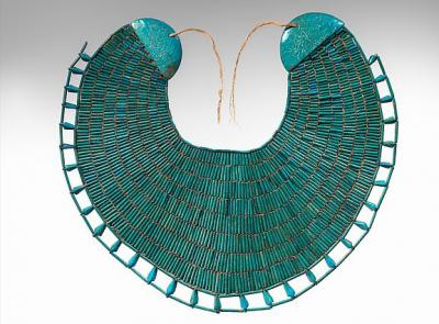 Ancient Egyptian Jewelry: Broad Collar of Wah