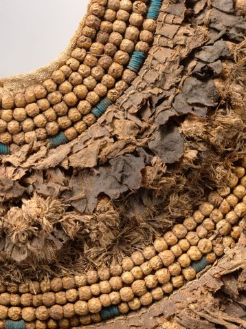 Ancient Egyptian Jewelry Floral Collar from Tutankhamun's Embalming Cache