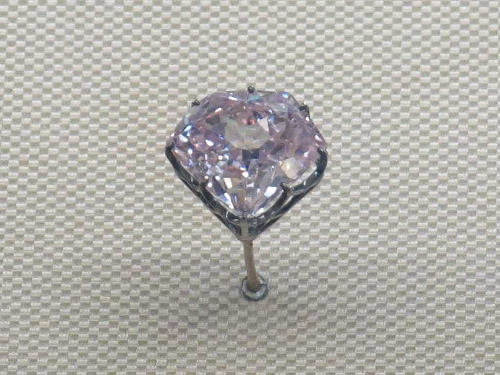 famous diamond Hortensia (Louvre)