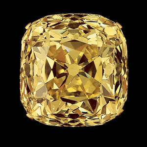 The Tiffany yellow famous diamond