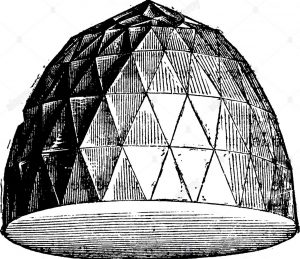 The Great Mogul famous diamond, vintage engraved illustration