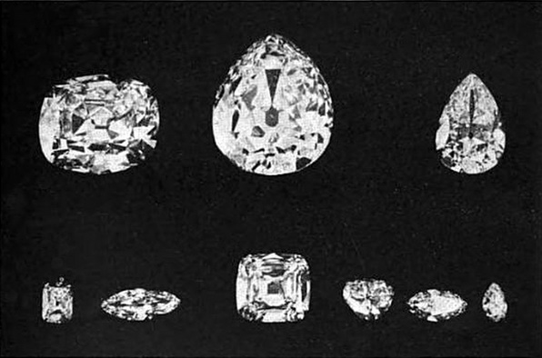 Cullinan Polished Parts famous diamond