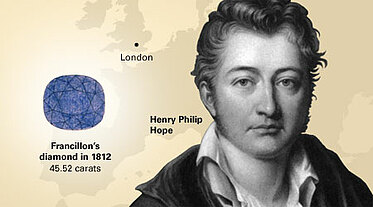 Henry Philip Hope - the owner of the famous diamond