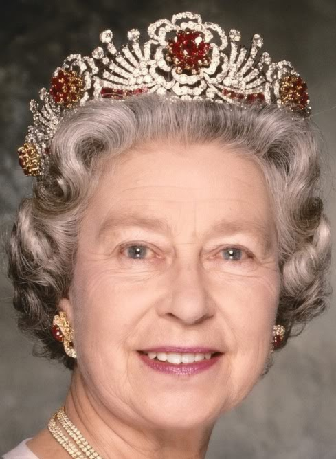 Queen Elizabeth II of the United Kingdom's Burmese Ruby Tiara