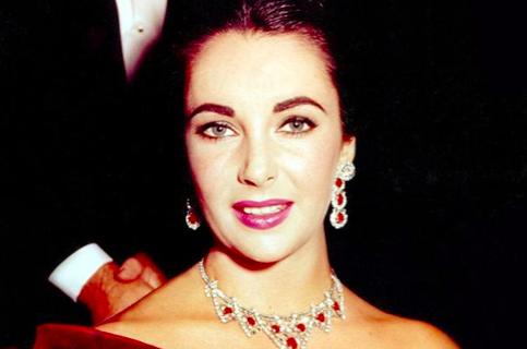 Elizabeth Taylor's ruby jewelry
